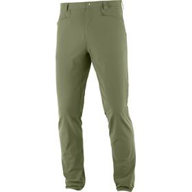 Salomon Wayfarer Tapered Pants Men olive night